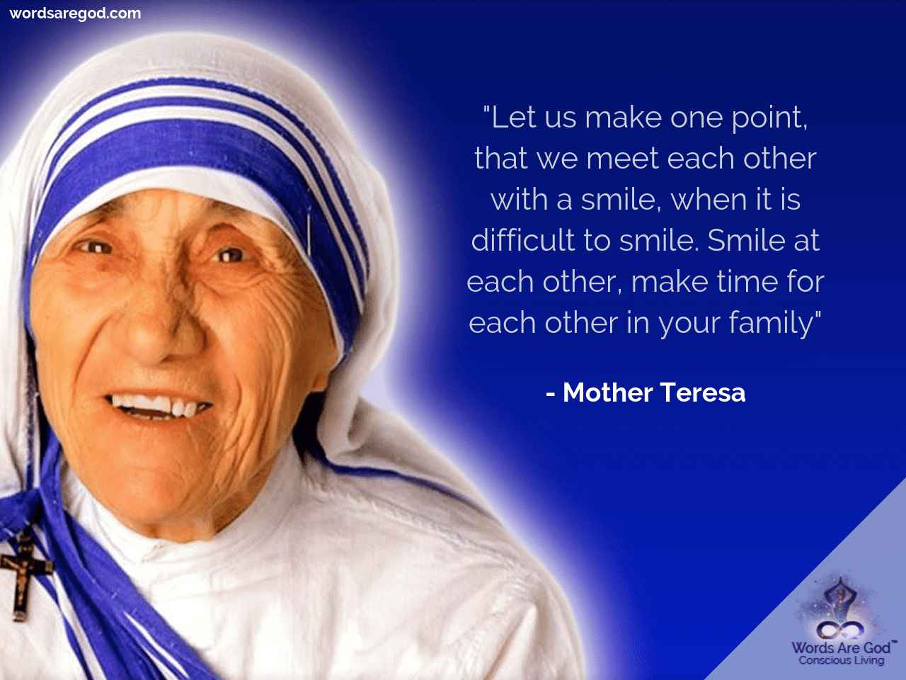 Mother teresa  Life Quote