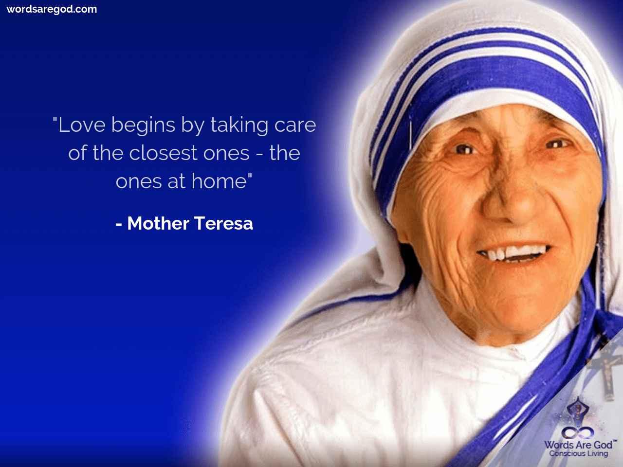 Mother teresa  Motivational Quote