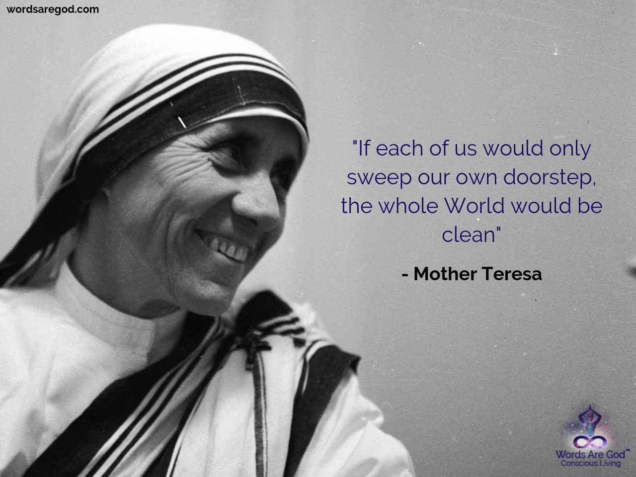Mother teresa  Motivational Quote