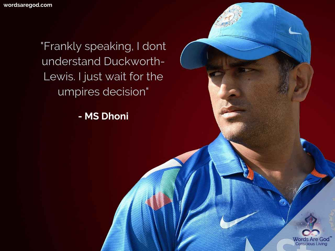 MS Dhoni quotes  inspirational quotes on life  motivational