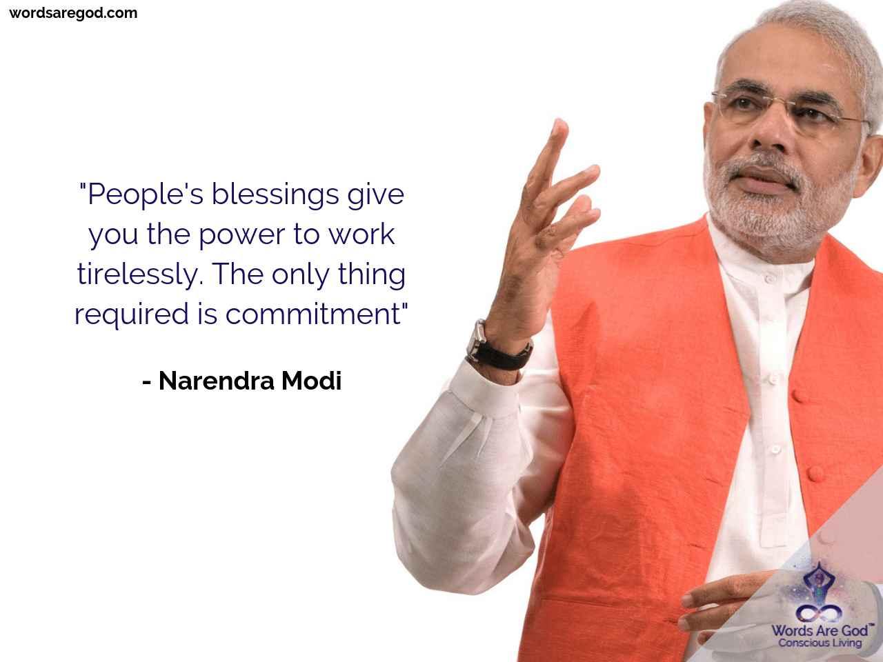 Narendra Modi Best Quote