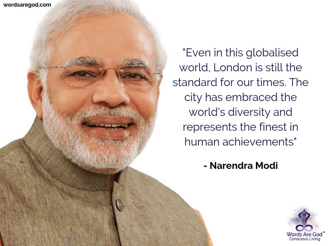 Narendra Modi Inspirational Quote