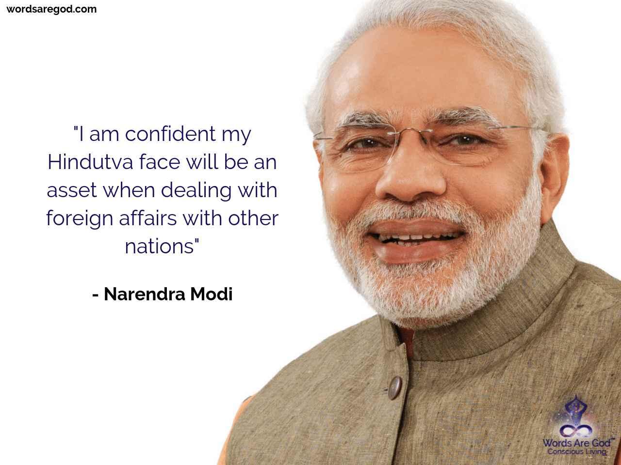 Narendra Modi Motivational Quote by Narendra Modi
