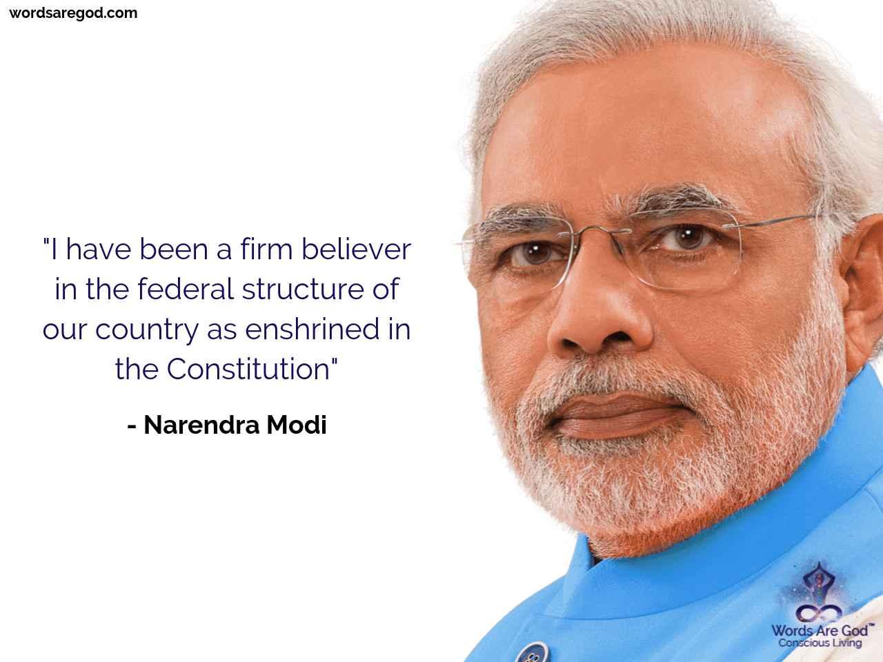 Narendra Modi Motivational Quote