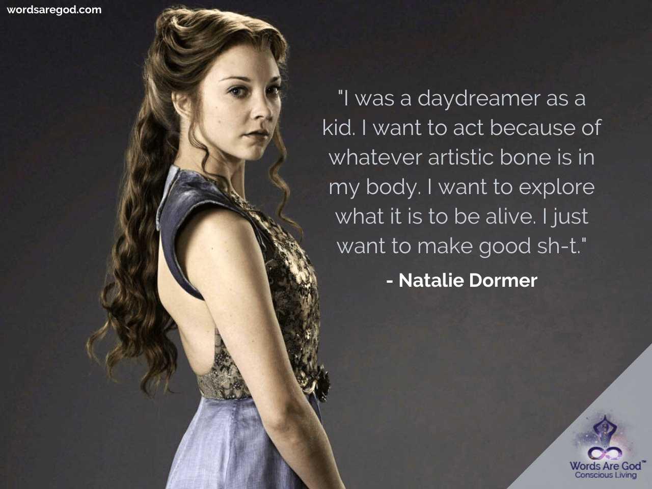 Natalie Dormer Best Quotes
