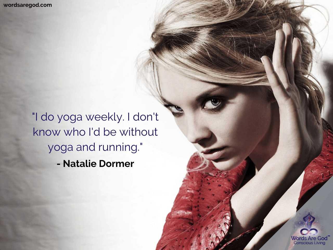 Natalie Dormer Inspirational Quotes by Natalie Dormer