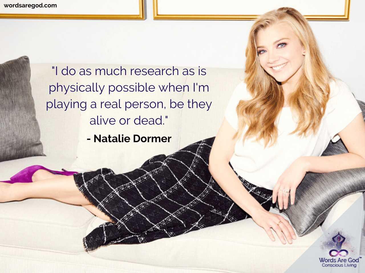 Natalie Dormer Life Quotes