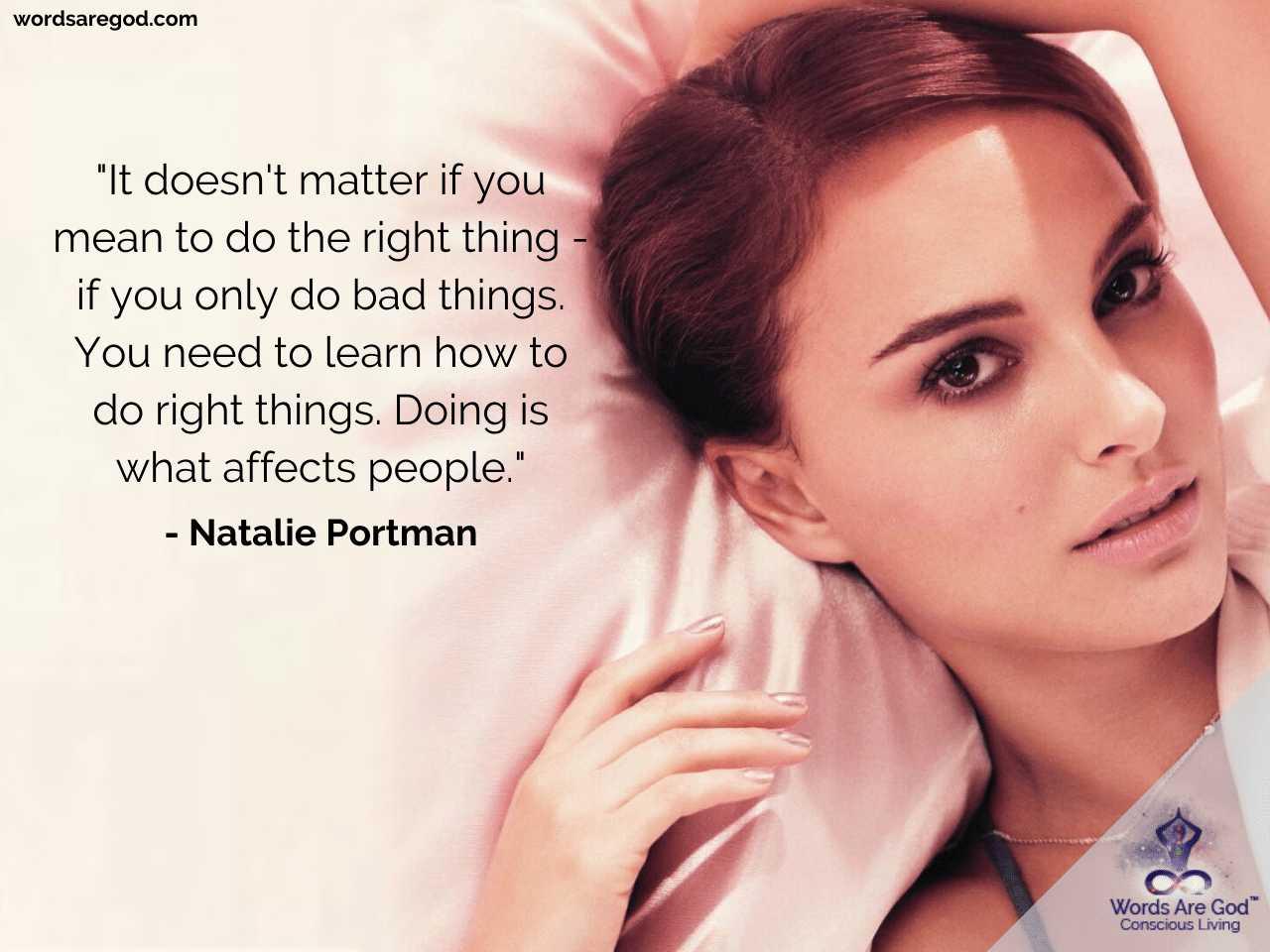 Natalie Portman Inspirational Quotes by Natalie Portman