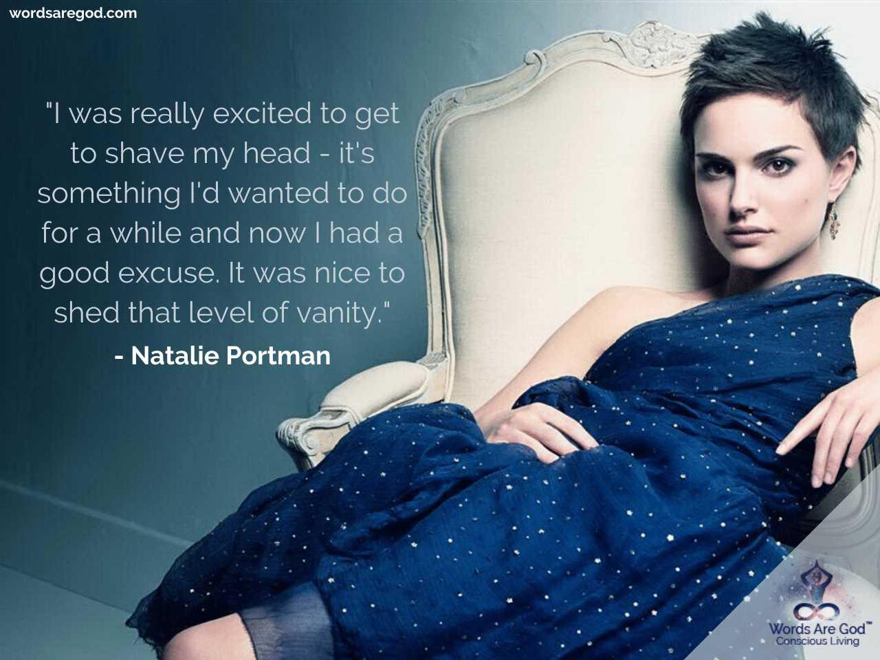 Natalie Portman Inspirational Quotes