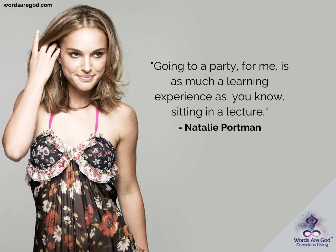 Natalie Portman Life Quotes