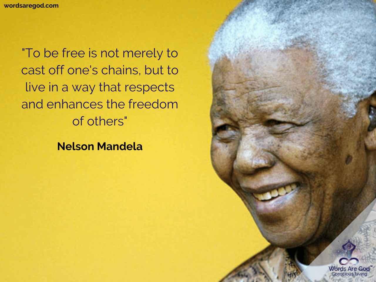Nelson Mandela Best Quote by Nelson Mandela