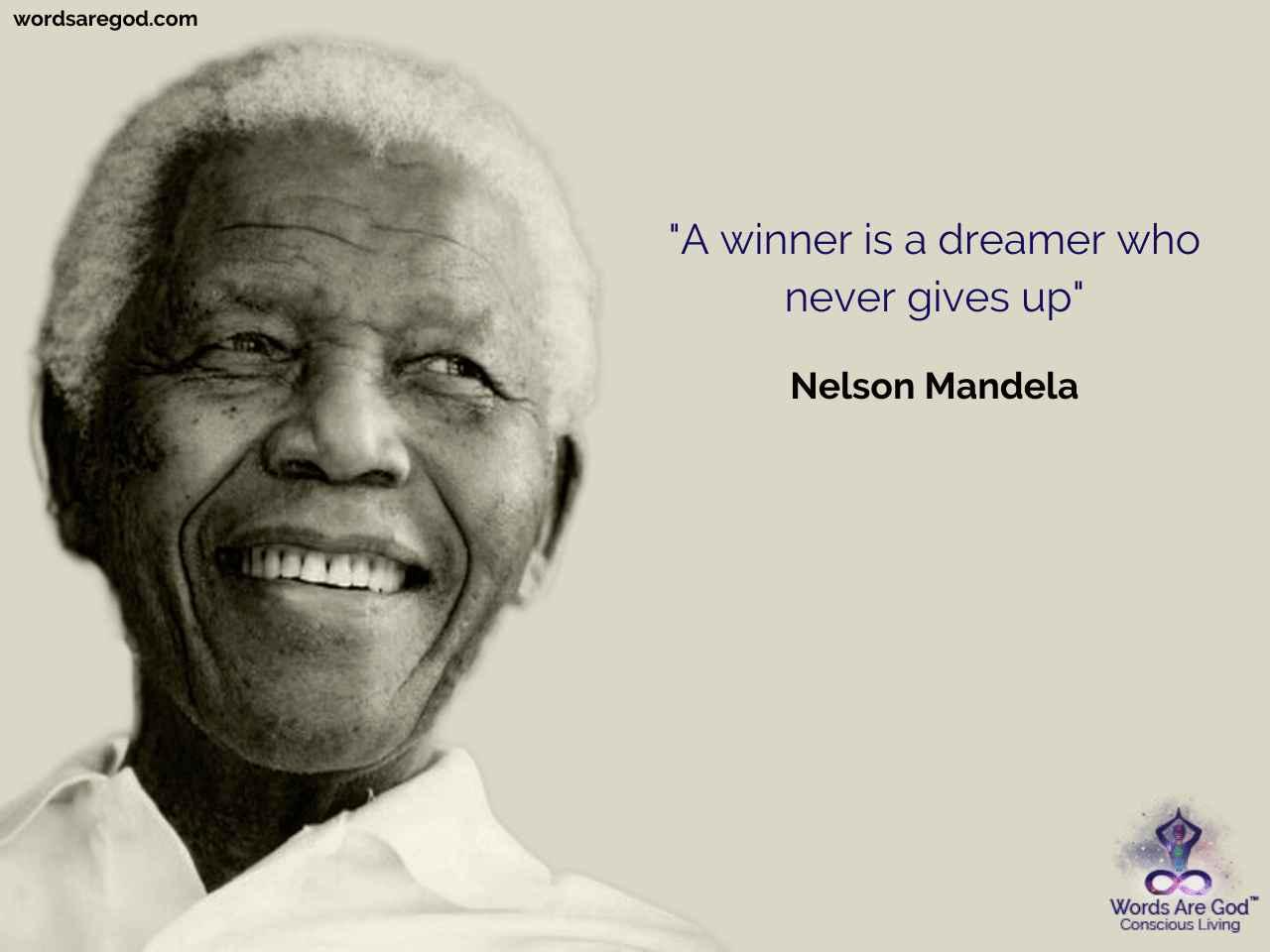 Nelson Mandela Inspirational Quote