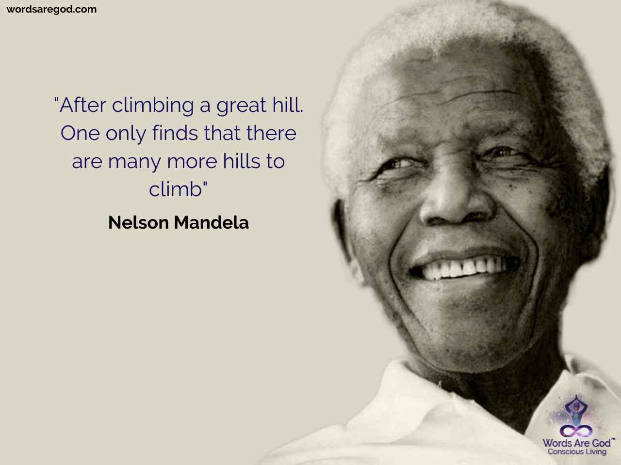 Nelson Mandela Life Quote