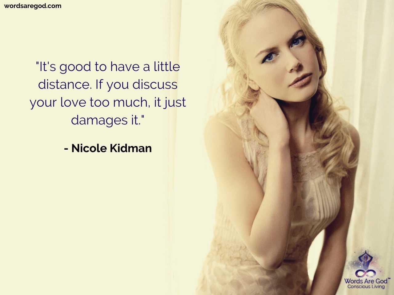 Nicole Kidman Best Quote