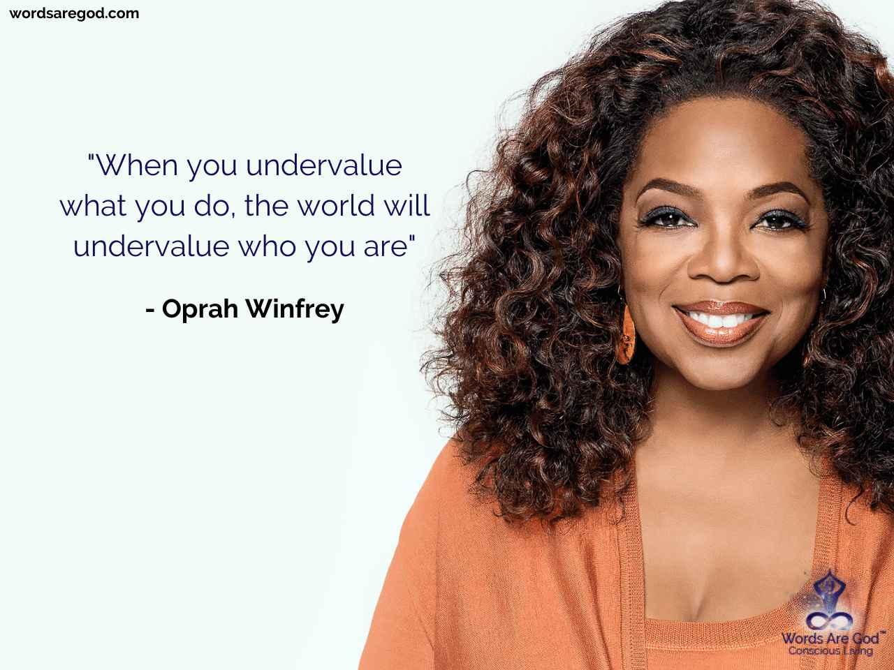Oprah Winfrey Life Quote