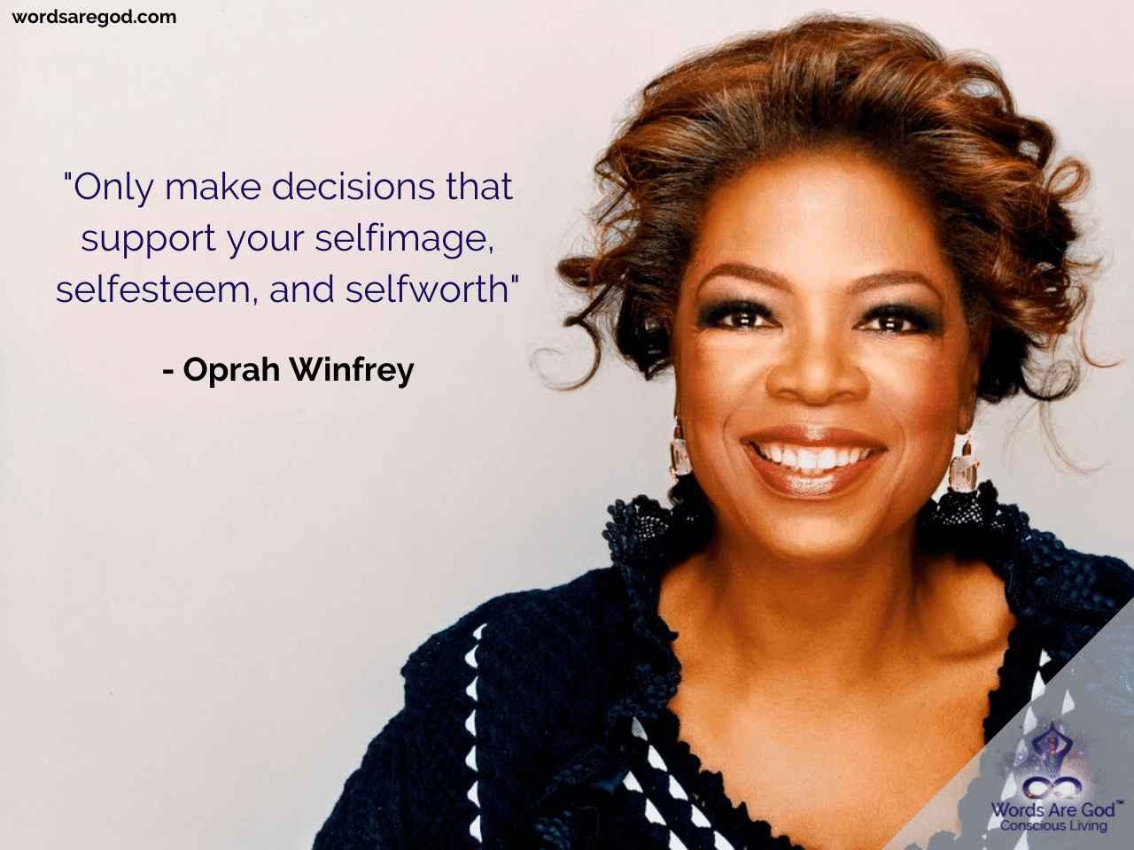 Oprah Winfrey Life Quote by Oprah Winfrey