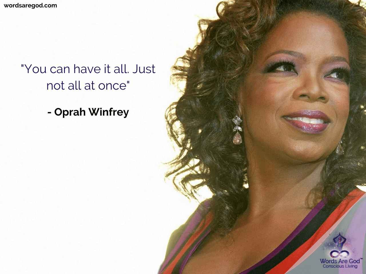 Oprah Winfrey Motivational Quote by Oprah Winfrey