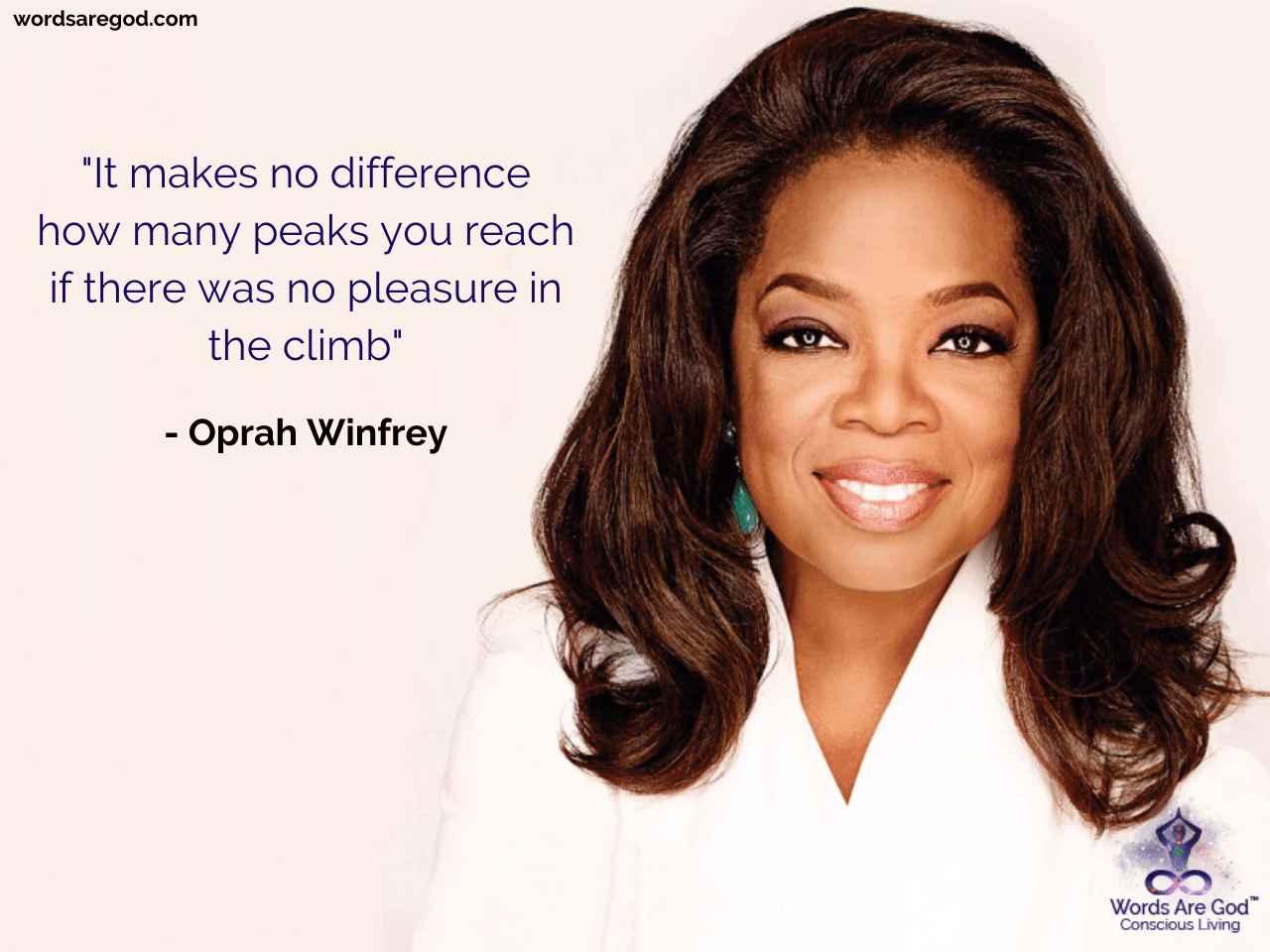 Oprah Winfrey Motivational Quote by Oprah Winfrey