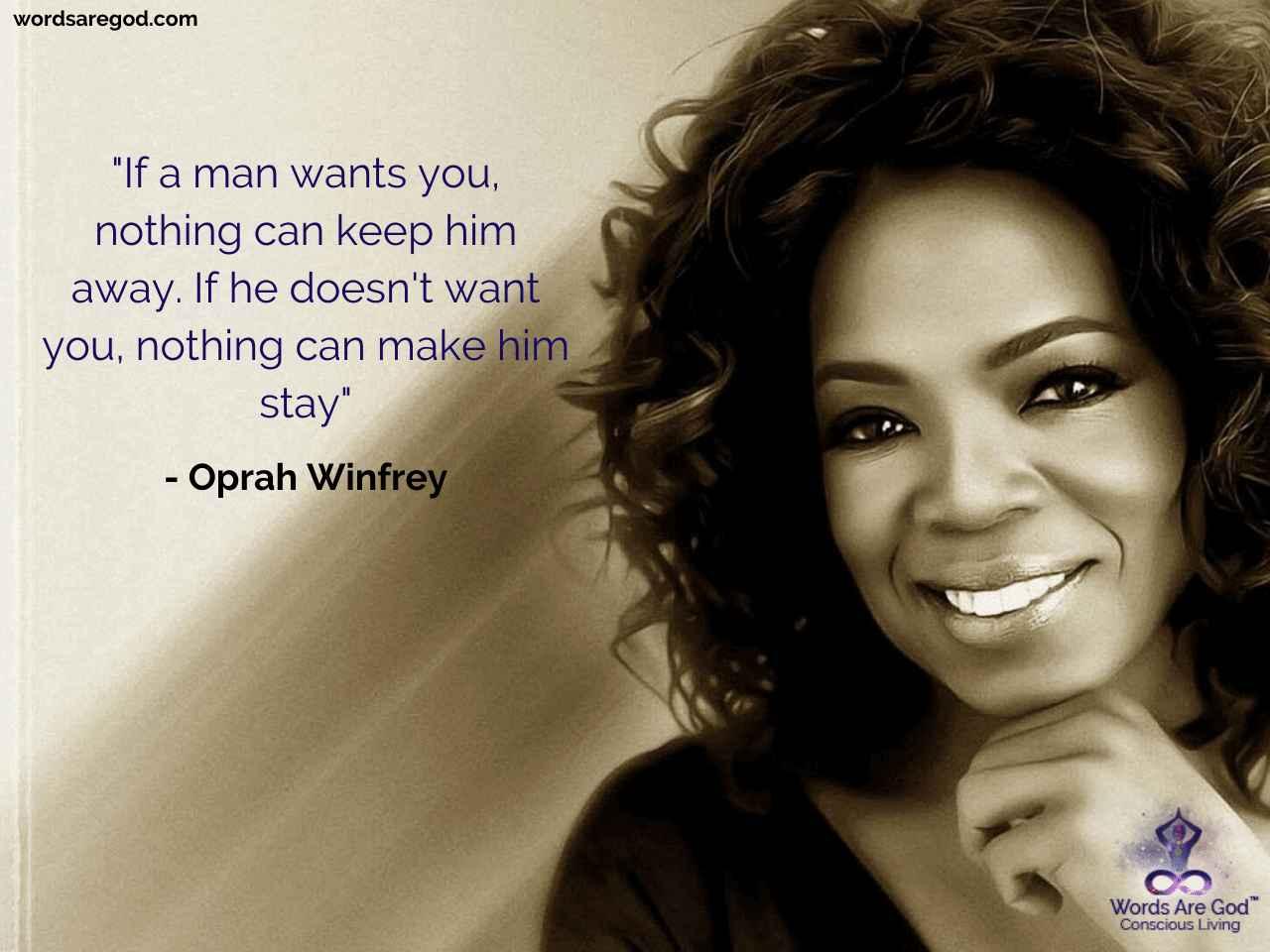 Oprah Winfrey Motivational Quote