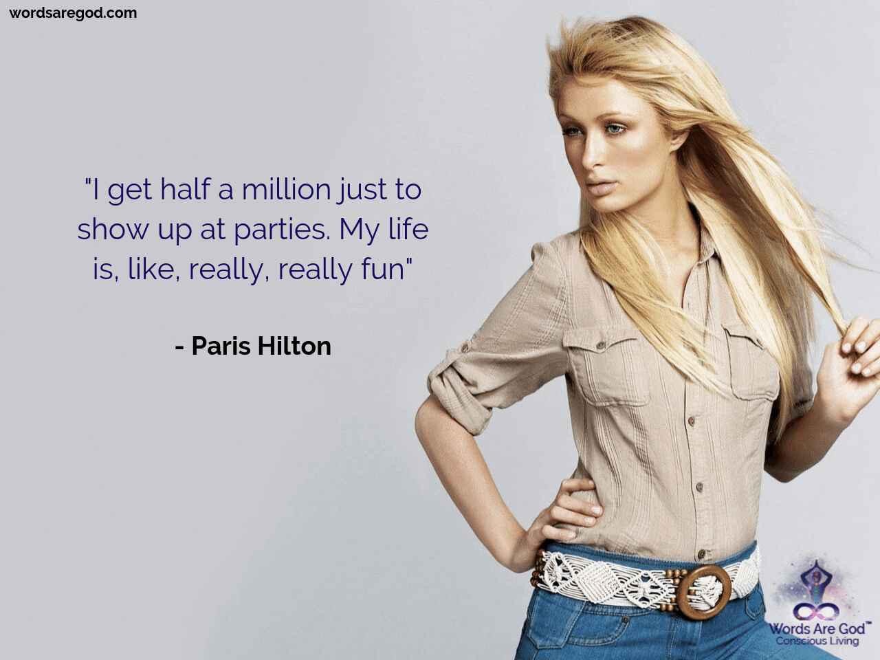 Paris Hilton Motivational Quotes