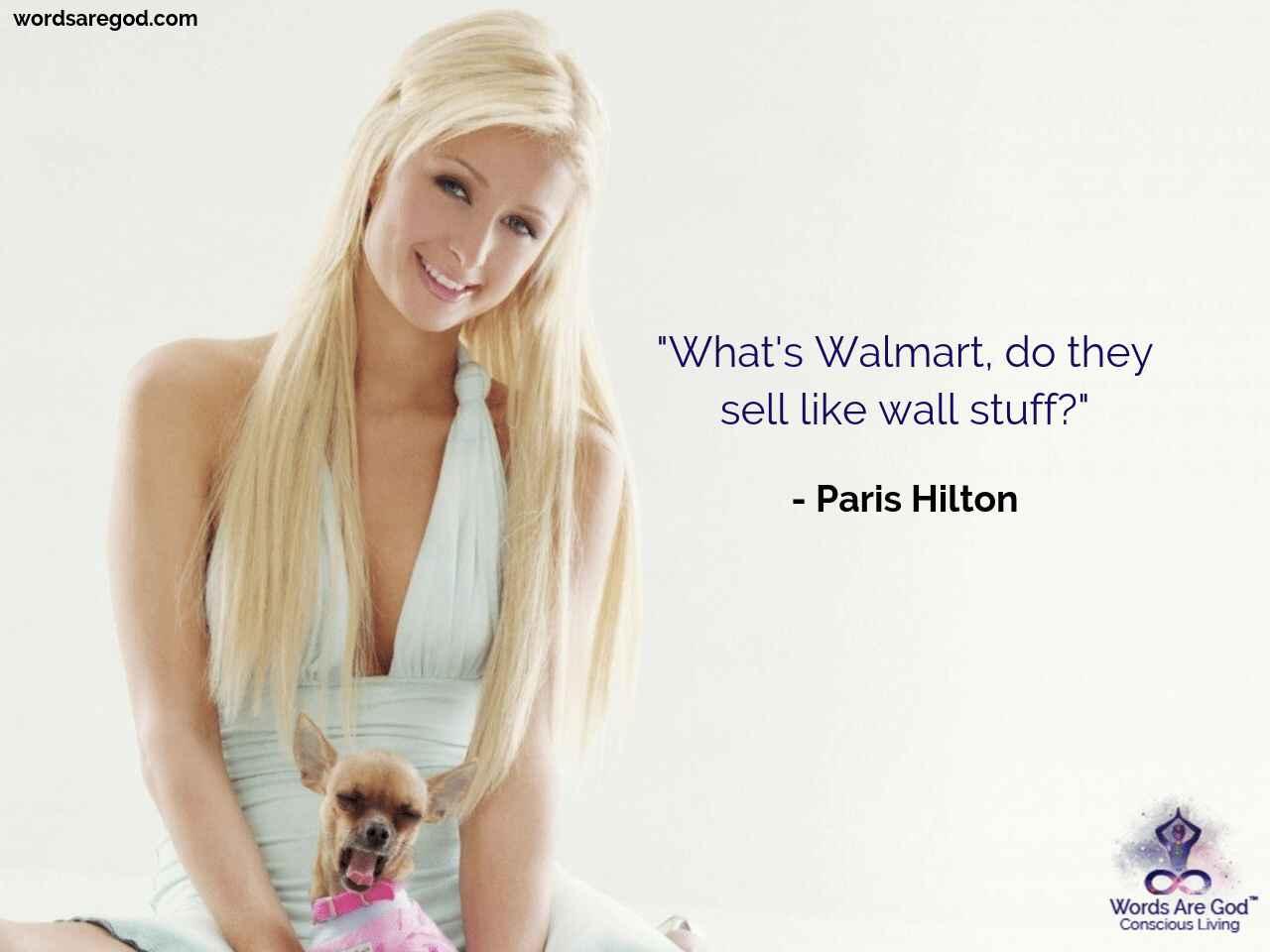 Paris Hilton Motivational Quotes by Paris Hilton