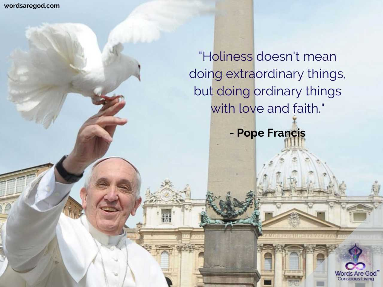 Pop Francis Inspirational Quotes