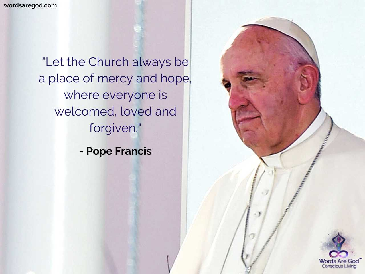 Pop Francis Motivational Quotes