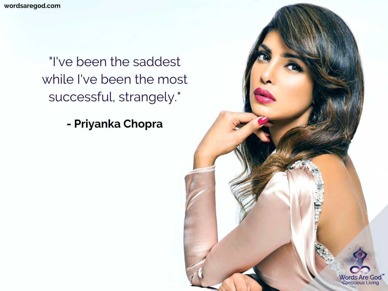 Priyanka Chopra Inspirational Quote