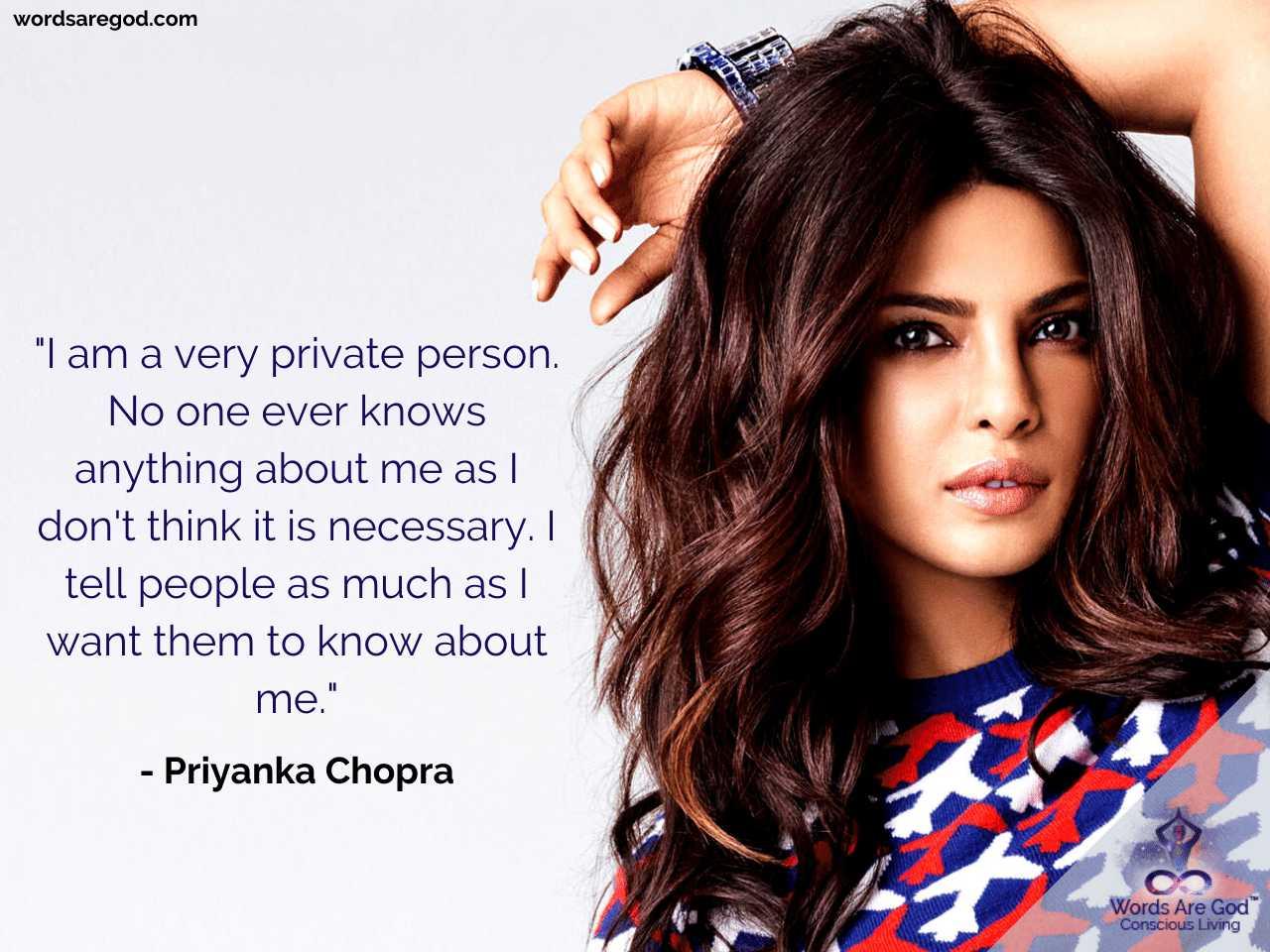 Priyanka Chopra Life Quote