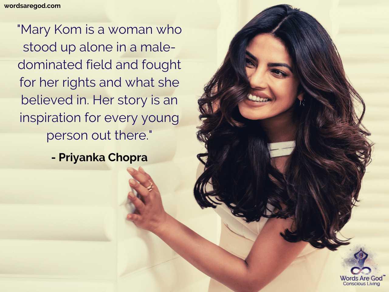 Priyanka Chopra Motivational Quote by Priyanka Chopra