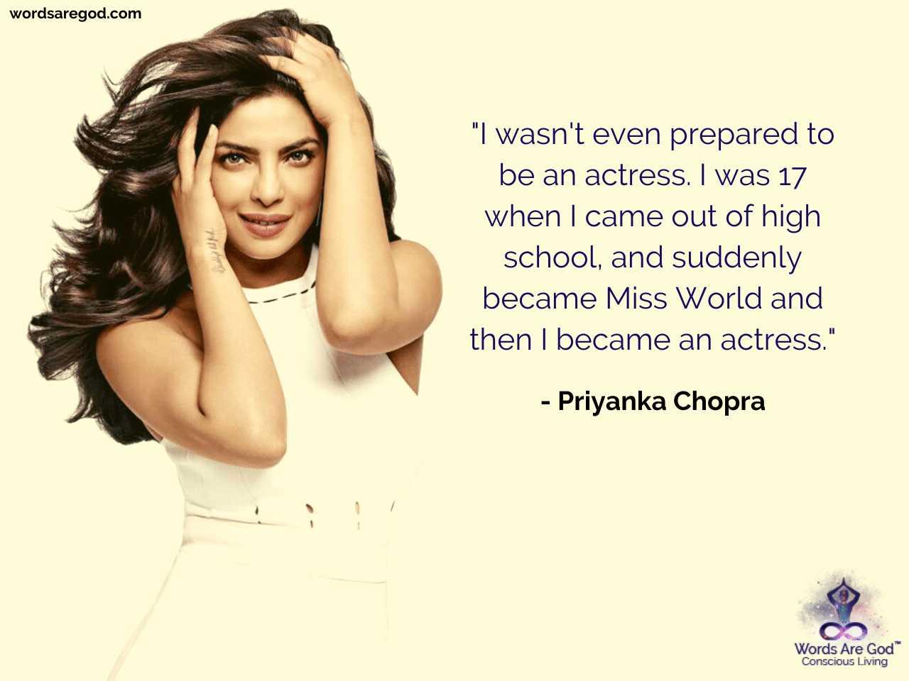 Priyanka Chopra Motivational Quote