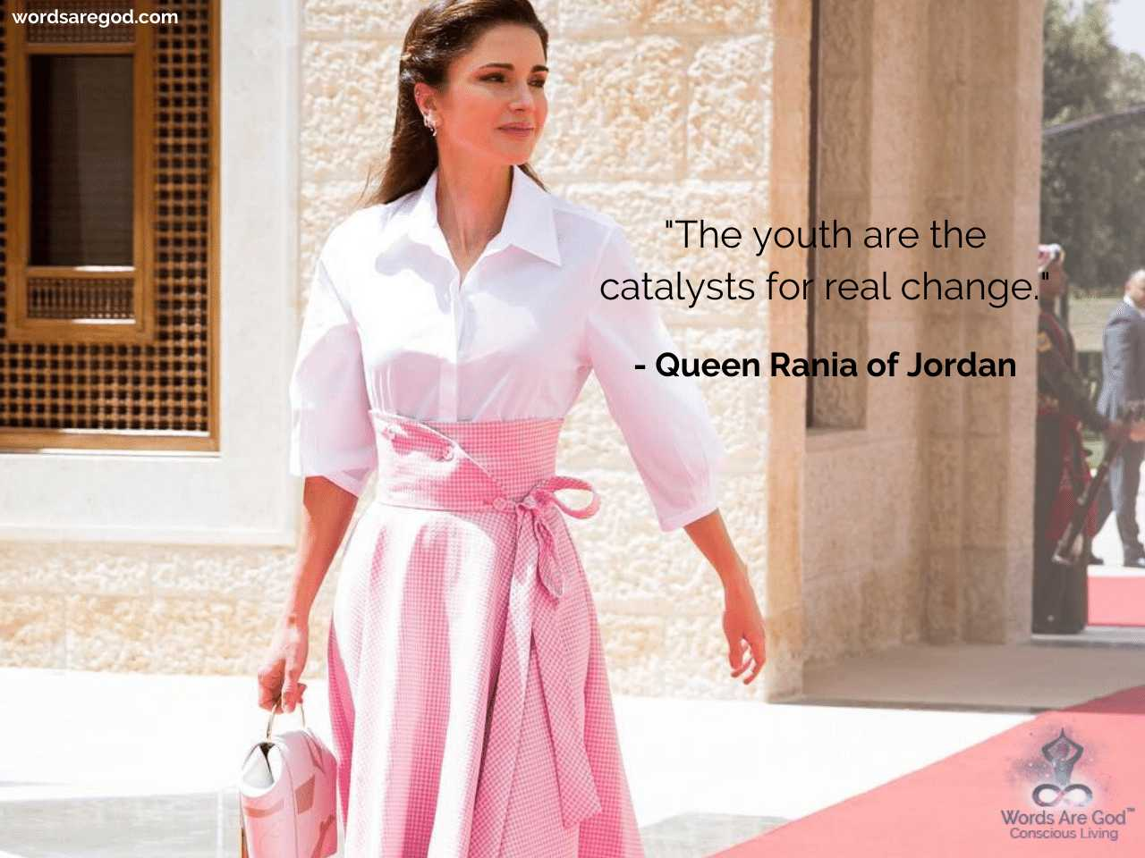Queen Rania of Jordan Best Quote