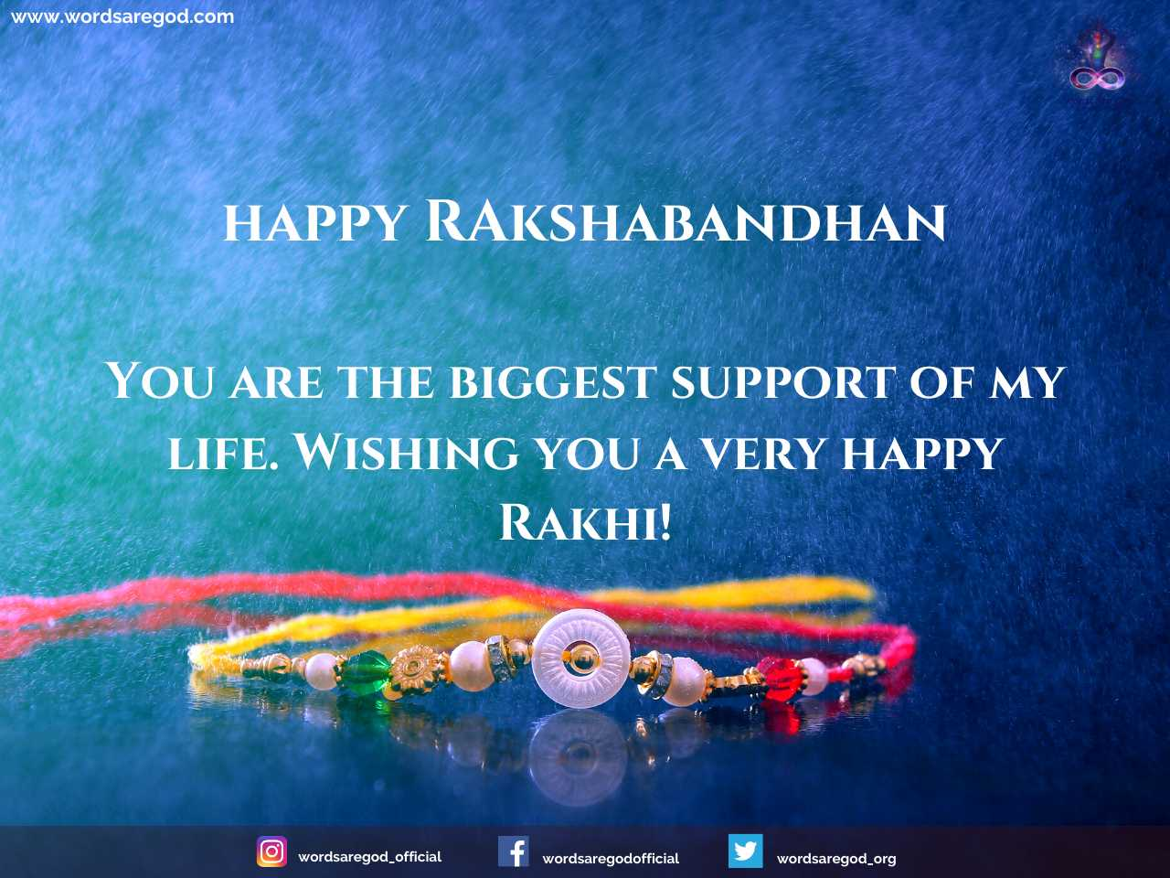 Raksha Bandhan Wishes by Events and Festival