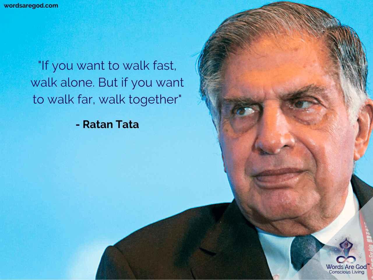 Ratan Tata Inspirational Quote