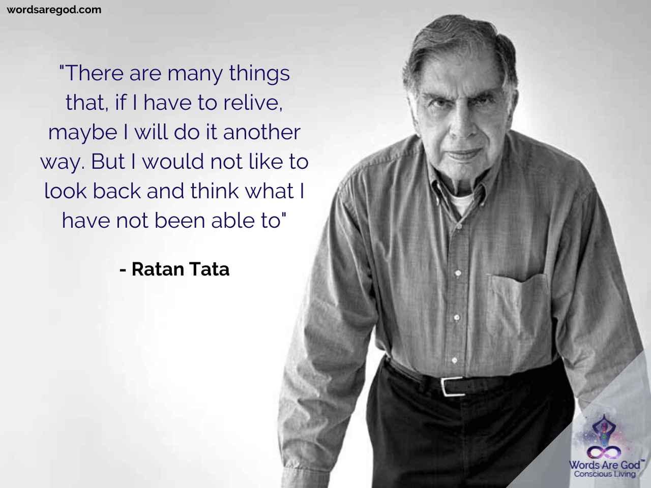Ratan Tata Life Quote
