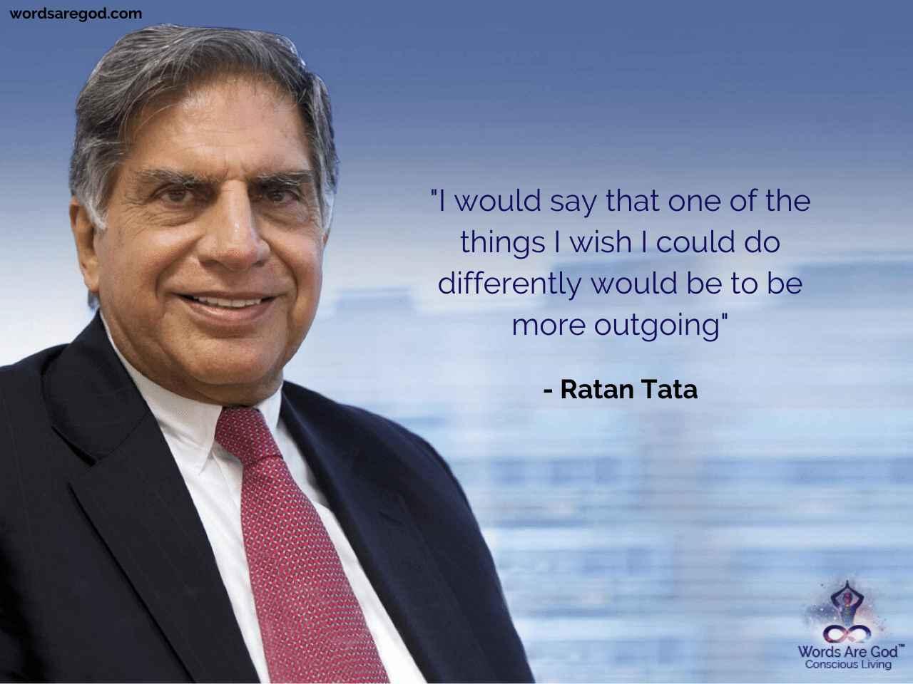 Ratan Tata Motivational Quote