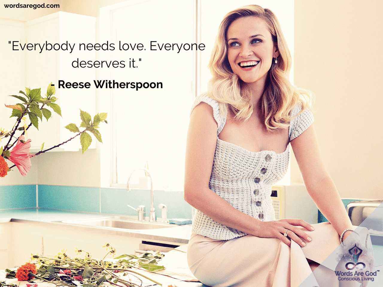 Reese Witherspoon Inspirational Quotes