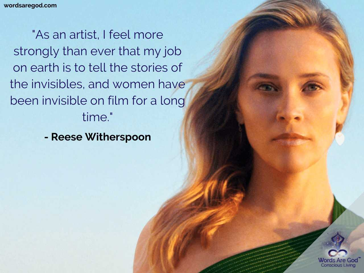 Reese Witherspoon Inspirational Quotes by Reese Witherspoon