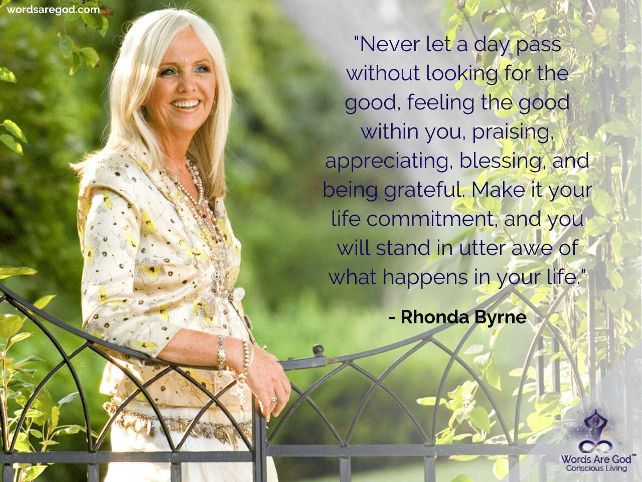 Rhonda Byrne Best Quotes