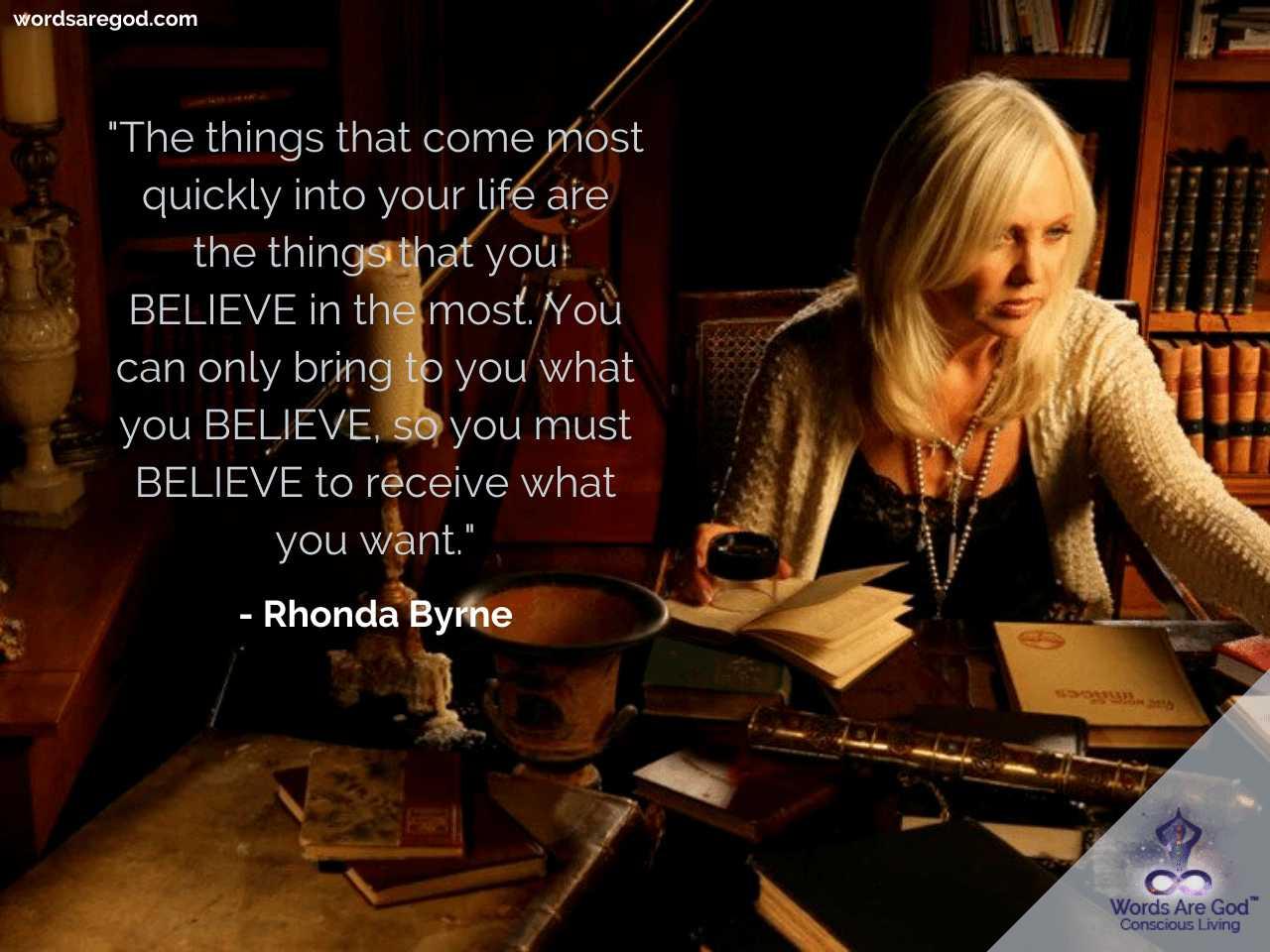 Rhonda Byrne Inspirational Quotes by Rhonda Byrne