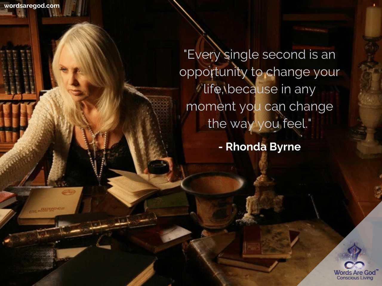 Rhonda Byrne Inspirational Quotes