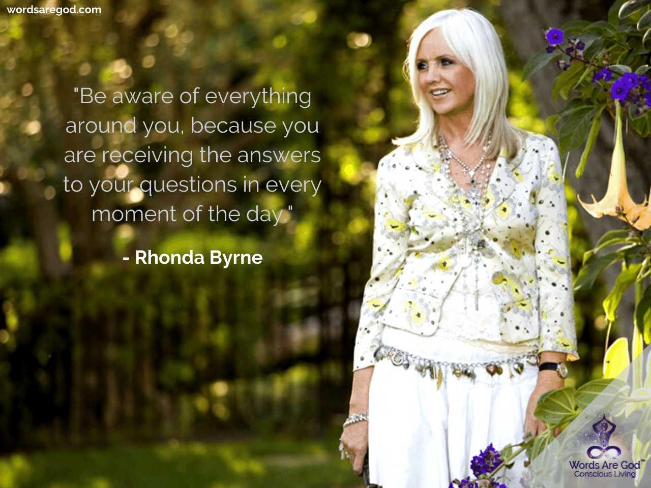 Rhonda Byrne Life Quotes