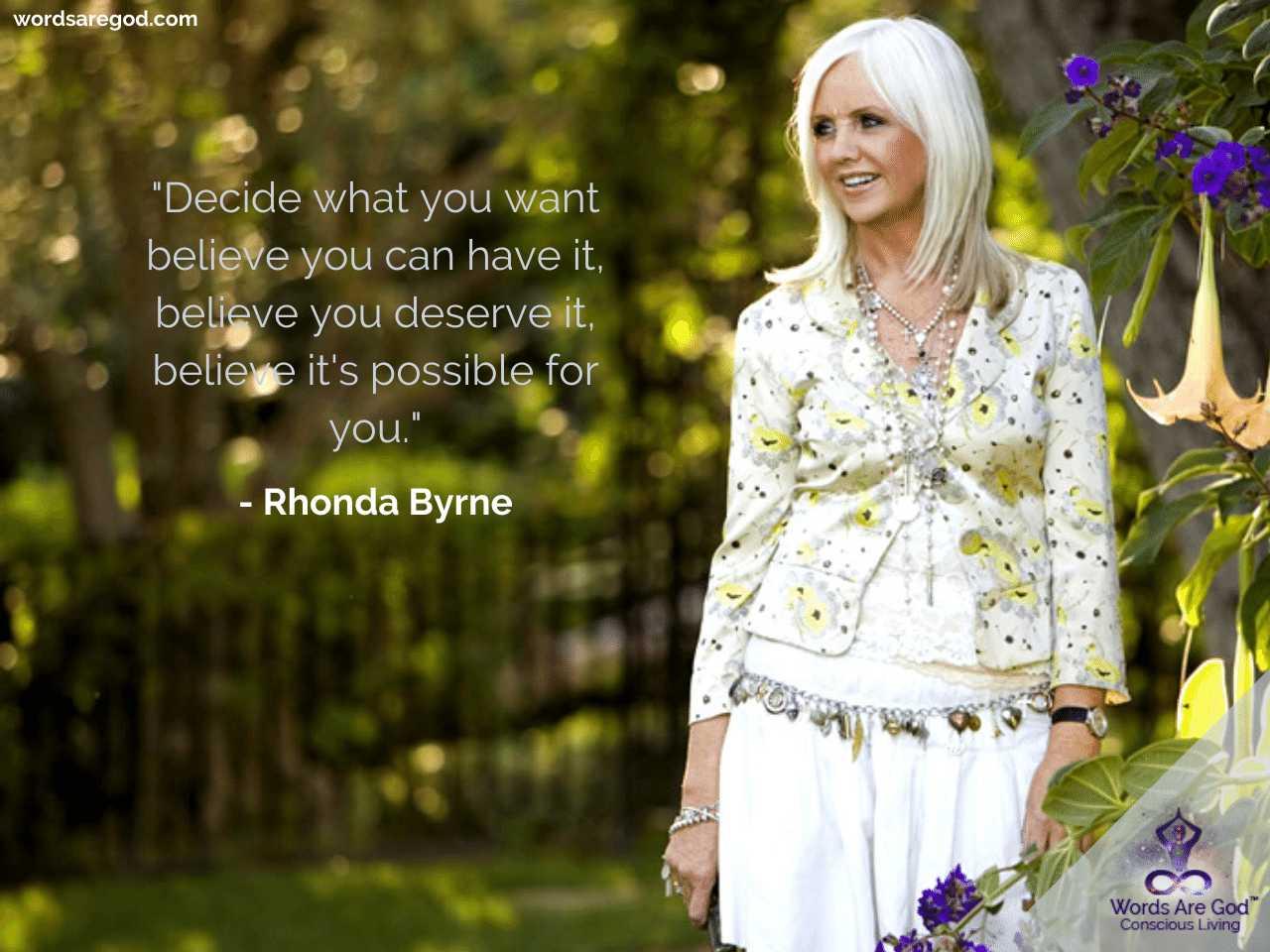 Rhonda Byrne Life Quotes by Rhonda Byrne
