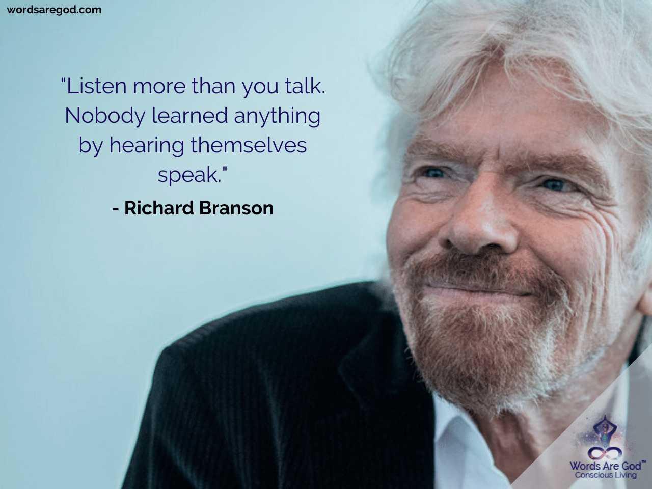Richard Branson Inspirational Quote by Richard Branson