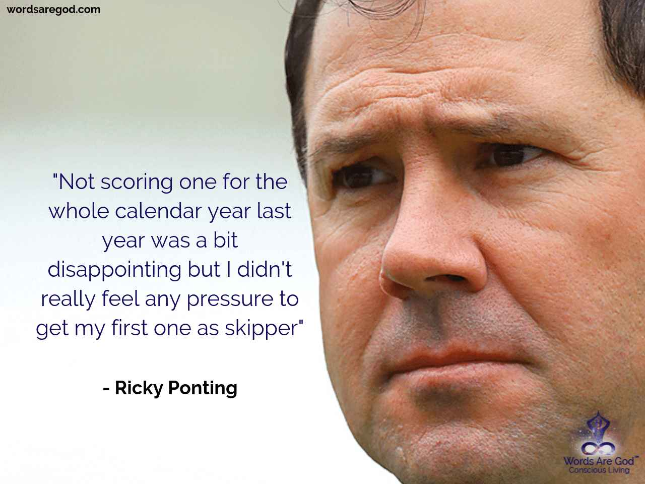 Ricky Ponting Inspirational Quote