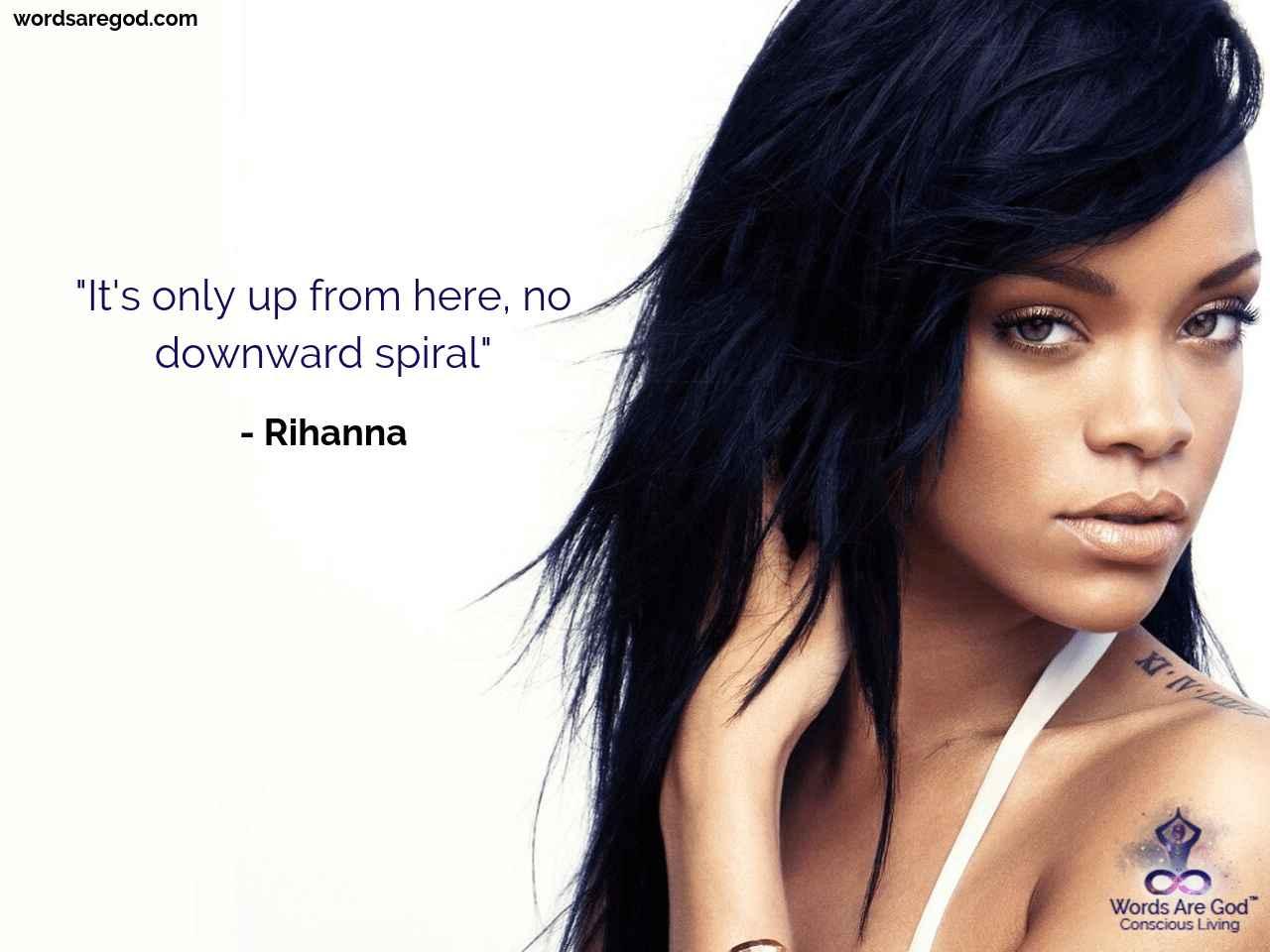 Rihanna  Inspiratioal Quote