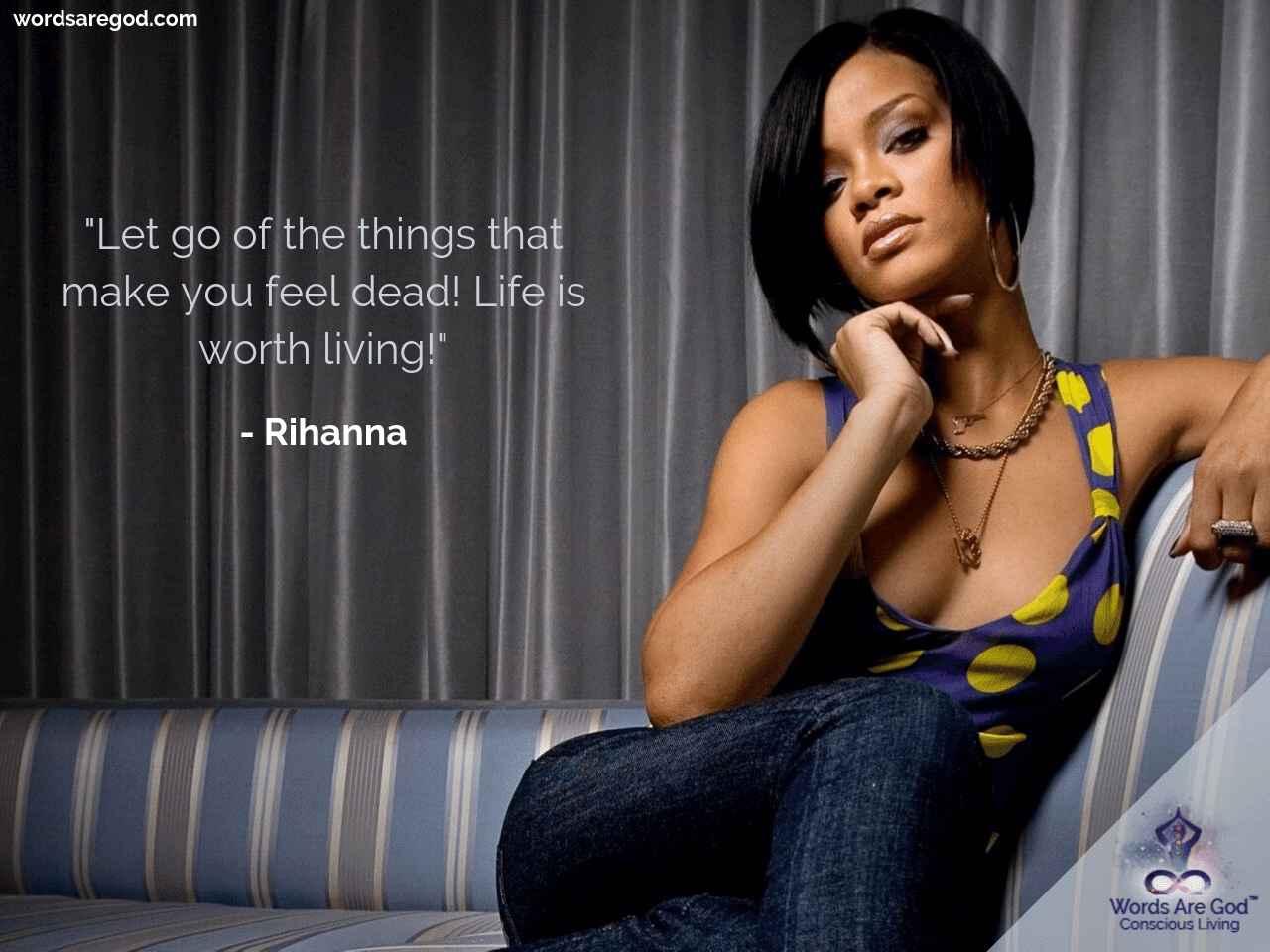 Rihanna music Quote