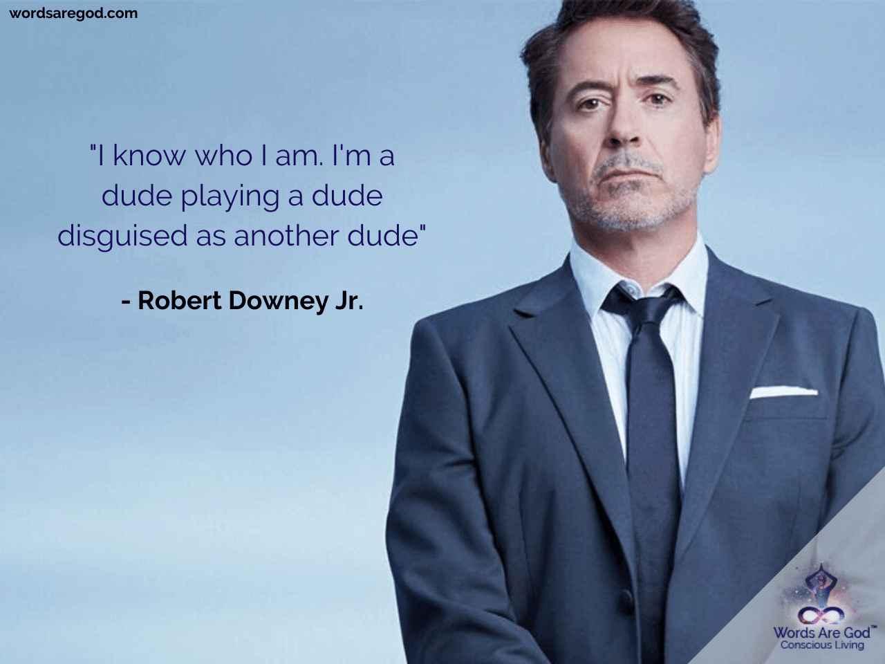 Robert Downey Jr. Best Quote