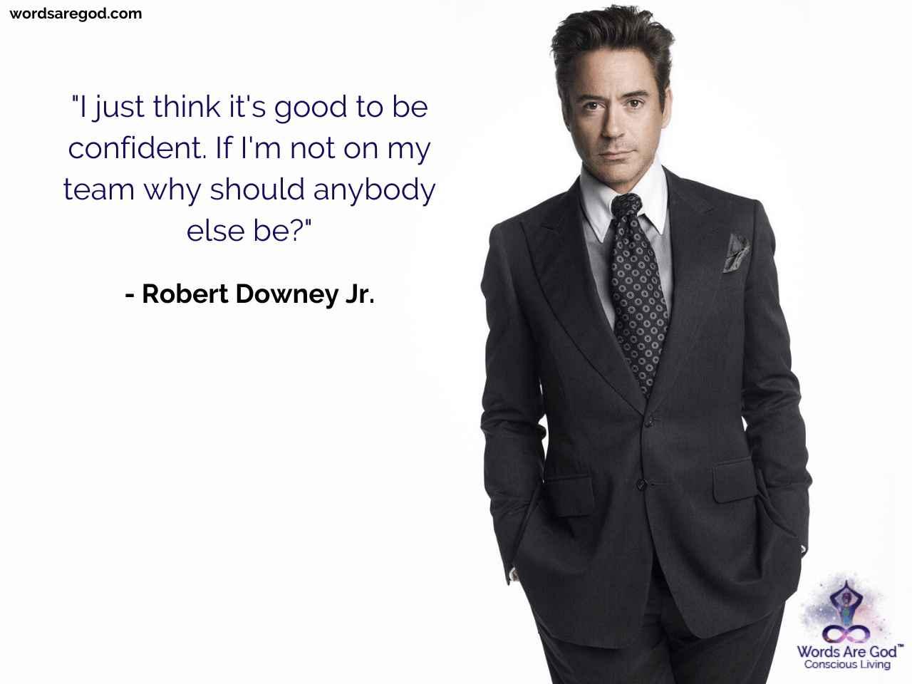 Robert Downey Jr. Life Quote
