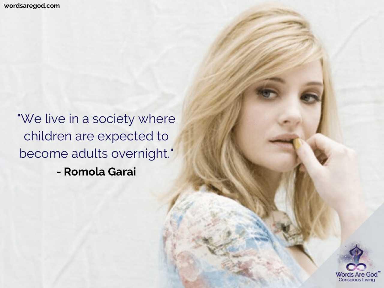 Romola Garai Life Quotes